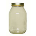 Glass Quart Jar, 12 per case